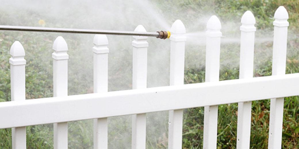 Fence Powerwashing